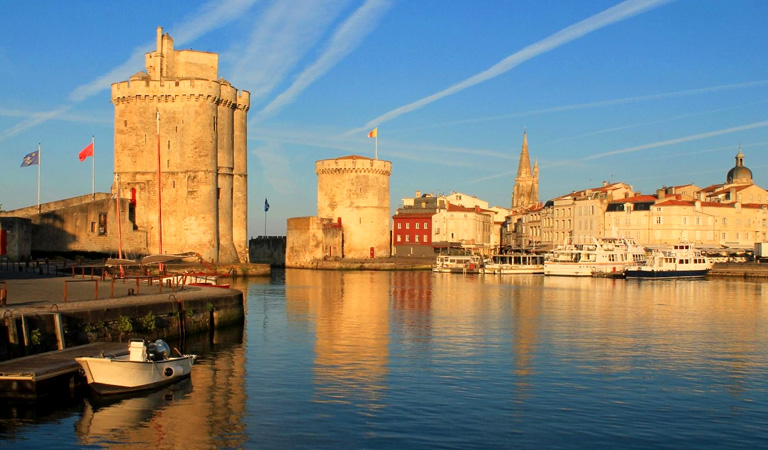 Worth a day's visit in itself, Nearby La Rochelle is steeped in so much history