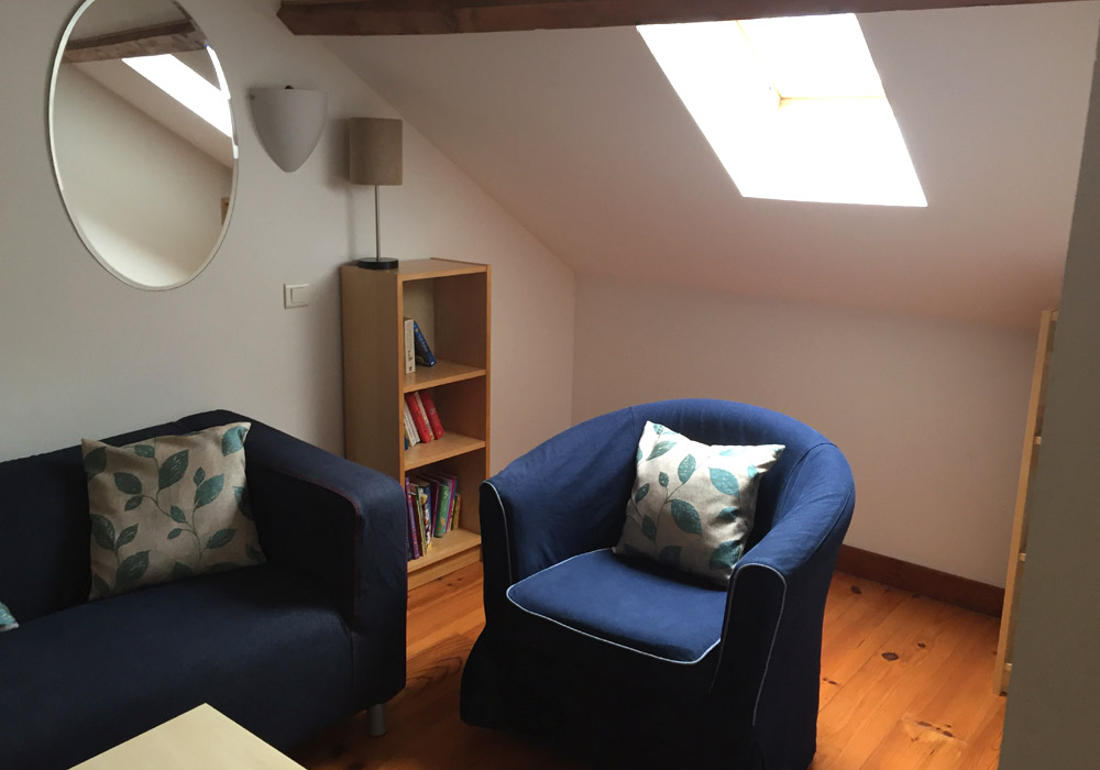 Le Pineau Gallery Image / seating area in converted loft