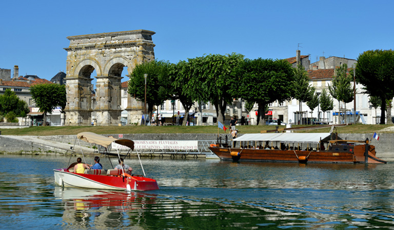 Saintes is proud of its rich heritage and the Tourist Informaton centre can provide a suggested walk which gives you the opportunity to stroll around the historic streets and discover the hidden glories of Saintes history dating back to the Roman era