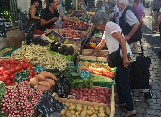 Friday Market at La Rochelle