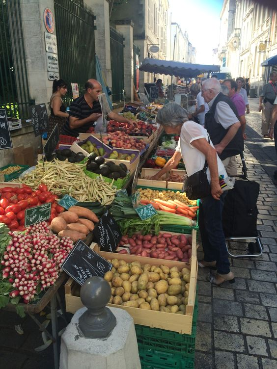 Friday Market at La Rochelle