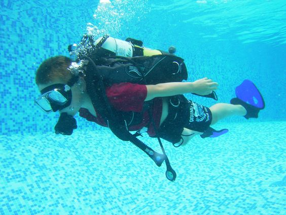 children's introduction to scuba diving