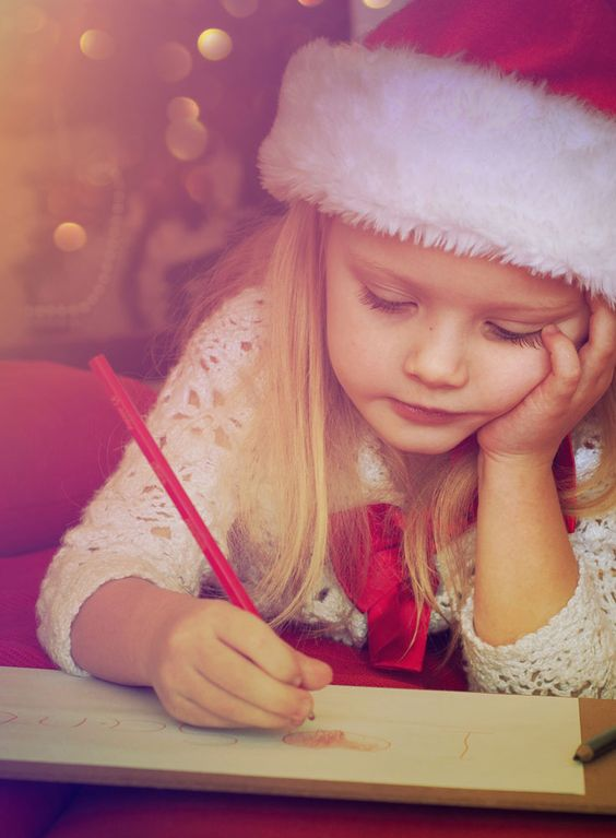 Your child must receive a postcard from Père Noël - it's the law!