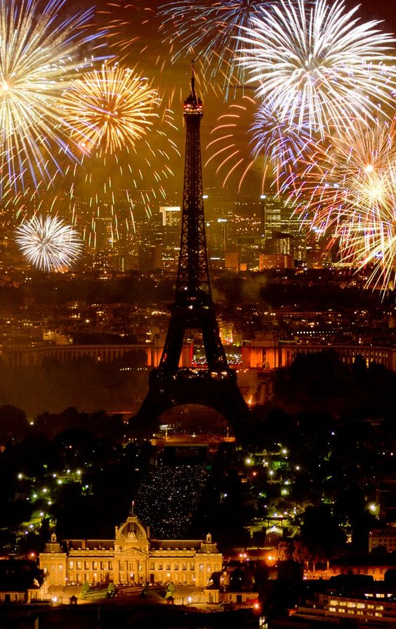 Celebrating New Year's Eve in France