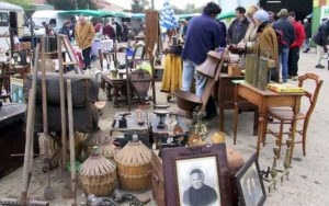 Browse a French market or brocante